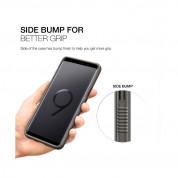 Patchworks Mono Grip Case - хибриден удароустойчив TPU калъф за Samsung Galaxy S9 (кафяв) 4