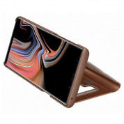 Samsung Clear View Stand Cover EF-ZN960CA for Galaxy Note 9 (brown) 4