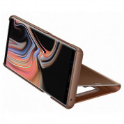 Samsung Clear View Stand Cover EF-ZN960CA for Galaxy Note 9 (brown) 5