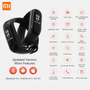 Xiaomi Mi Band 3 FitnessTracker for iOS and Android (black) 6