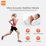 Xiaomi Mi Band 3 FitnessTracker for iOS and Android (black) 5