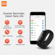 Xiaomi Mi Band 3 FitnessTracker for iOS and Android (black) 4