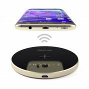 Satechi Wireless Charging Pad Fast Charge - поставка (пад) за безжично захранване за QI съвместими устройства (златист) 6