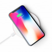 Satechi Wireless Charging Pad Fast Charge (rose gold) 7