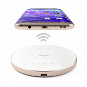 Satechi Wireless Charging Pad Fast Charge (rose gold) 6