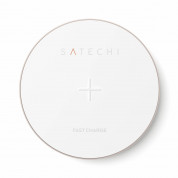 Satechi Wireless Charging Pad Fast Charge (rose gold) 3