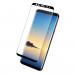 Eiger 3D Glass Edge to Edge Curved Tempered Glass - калено стъклено защитно покритие с извити ръбове за целия дисплея на Samsung Galaxy Note 9 (черен-прозрачен) 3