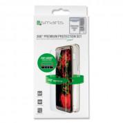 4smarts 360° Premium Protection Set Easy-Assist - хибриден кейс и стъклено покритие за Samsung Galaxy S8 (с рамка за поставяне) (прозрачен) 5