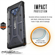 Urban Armor Gear Plasma Case for Samsung Galaxy Note 9 (ash) 2