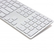 Matias Backlit Wireless Aluminum Keyboard with Numeric Keypad (silver) 1