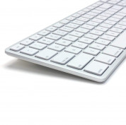 Matias Backlit Wireless Aluminum Keyboard with Numeric Keypad (silver) 3