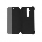 Huawei Smart View Cover - оригинален кожен калъф за Huawei Mate 20 Lite (черен) 2