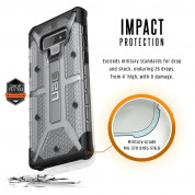Urban Armor Gear Plasma - удароустойчив хибриден кейс за Samsung Galaxy Note 9 (прозрачен) 2