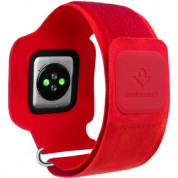 TwelveSouth ActionSleeve armband for Apple Watch 42mm, 44mm(red) 1