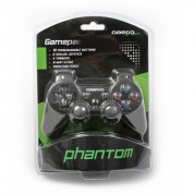 Omega Gamepad Phantom PRO PC USB - универсален PC контролер (черен) 2