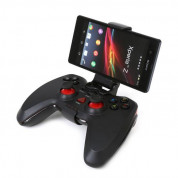 Varr Gamepad Sandpiper OTG for Android with Clip - кабелен геймпад за PS3, PC и Adroid устройства (черен) 2