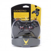 Varr Gamepad Sandpiper OTG for Android with Clip - кабелен геймпад за PS3, PC и Adroid устройства (черен) 3