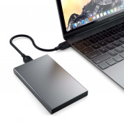 Satechi USB-C HDD/SSD Aluminum Enclosure (space gray) 2