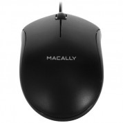 Macally USB Optical Mouse - USB оптична мишка за PC и Mac (черен)
