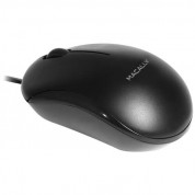 Macally USB Optical Mouse - USB оптична мишка за PC и Mac (черен) 4