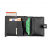 4smarts LAVAVIK Anti-RFID Wallet with Buckle - кожен портфейл с RFID защита (черен) 2