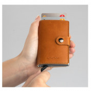 4smarts LAVAVIK Anti-RFID Wallet with Buckle (brown) 2