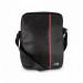 BMW Carbon Inspiration Tablet Bag - дизайнерска чанта с презрамка за таблети до 10.2 инча (черен-червен) 1