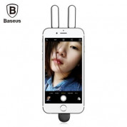 Baseus Selfie LED Light - LED светкавица за селфи снимки за iPhone с Lightning конектор (черен) 5