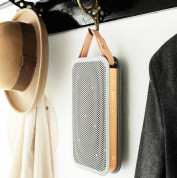 Beoplay Accessory A2 Short leather strap - кожена дръжка за Bang & Olufsen BeoPlay A2 (кремав) 1