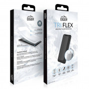 Eiger Tri Flex High Impact Film Screen Protector - качествено защитно покритие за дисплея на iPhone 11 Pro Max, iPhone XS Max (два броя) 2