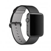 Apple Woven Black - оригинална текстилна каишка за Apple Watch 42мм, 44мм (черен) (reconditioned) (Apple Box) 2