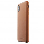 Mujjo Leather Case for iPhone XS Max (tan)