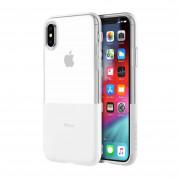 Incipio NGP Case - удароустойчив силиконов калъф за iPhone XS, iPhone X (прозрачен)