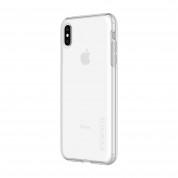 Incipio DualPro Case - удароустойчив хибриден кейс за iPhone XS Max (прозрачен) 1