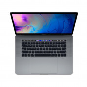 Apple MacBook Pro 15 Touch Bar, Touch ID, 6-Core i7 2.2GHz, 16GB, 256GB SSD, Radeon Pro 555X w 4GB (тъмносив) (модел 2018)