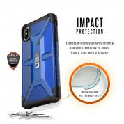 Urban Armor Gear Plasma Case for iPhone XS Max (cobalt) 5