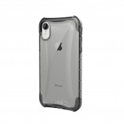 Urban Armor Gear Plyo Case - удароустойчив хибриден кейс за iPhone XR (прозрачен)