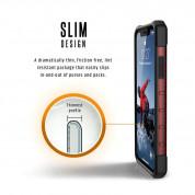 Urban Armor Gear Plasma - удароустойчив хибриден кейс за iPhone XR (червен) 6