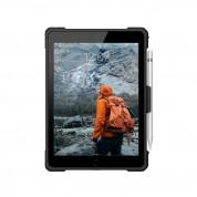 Urban Armor Gear Plasma Case - удароустойчив хибриден кейс от най-висок клас за iPad Pro 9.7, iPad 5 (2017), iPad 6 (2018), iPad Air, iPad Air 2 (черен) 5