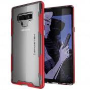 Ghostek Cloak 3 Case - хибриден удароустойчив кейс за Samsung Galaxy Note 9 (червен)