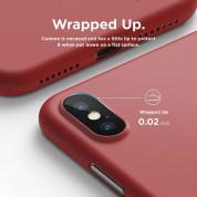 Elago Inner Core Case - тънък полипропиленов кейс (0.3 mm) за iPhone XS Max (червен) 7