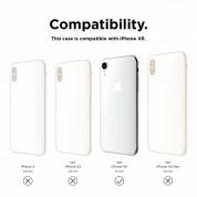 Elago Slim Fit Case - качествен поликарбонатов кейс за iPhone XR (прозрачен) 8