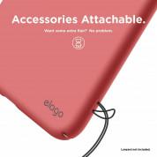 Elago Slim Fit Case - качествен поликарбонатов кейс за iPhone XS Max (светлочервен) 7