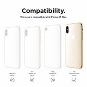 Elago Slim Fit Case - качествен поликарбонатов кейс за iPhone XS Max (тъмносин) 8