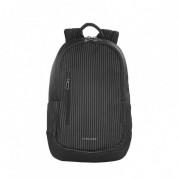Tucano Magnum Gessato Backpack - стилна раница за MacBook Pro 15 и лаптопи до 15.6 ин. (черен)