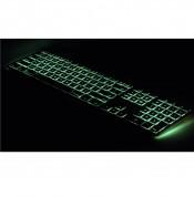 Matias Backlit Wired Aluminum Keyboard with Numeric Keypad - качествена алуминиева жична клавиатура с подсветка за Mac (тъмносив)  2