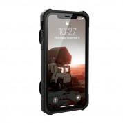 Urban Armor Gear Trooper Case - удароустойчив хибриден кейс с отделение за карти за iPhone XR (черен) 3