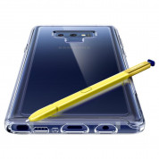 Spigen Slim Armor Crystal Case - хибриден кейс с най-висока степен на защита за Samsung Galaxy Note 9 (прозрачен) 12