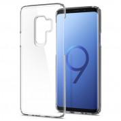 Spigen Thin Fit Case - качествен тънък кейс за Samsung Galaxy S9 Plus (прозрачен) 5