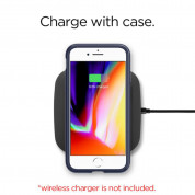 Spigen Rugged Armor Case - термополиуретанов кейс с най-висока степен на защита за iPhone 8, iPhone 7 (тъмносин) 8